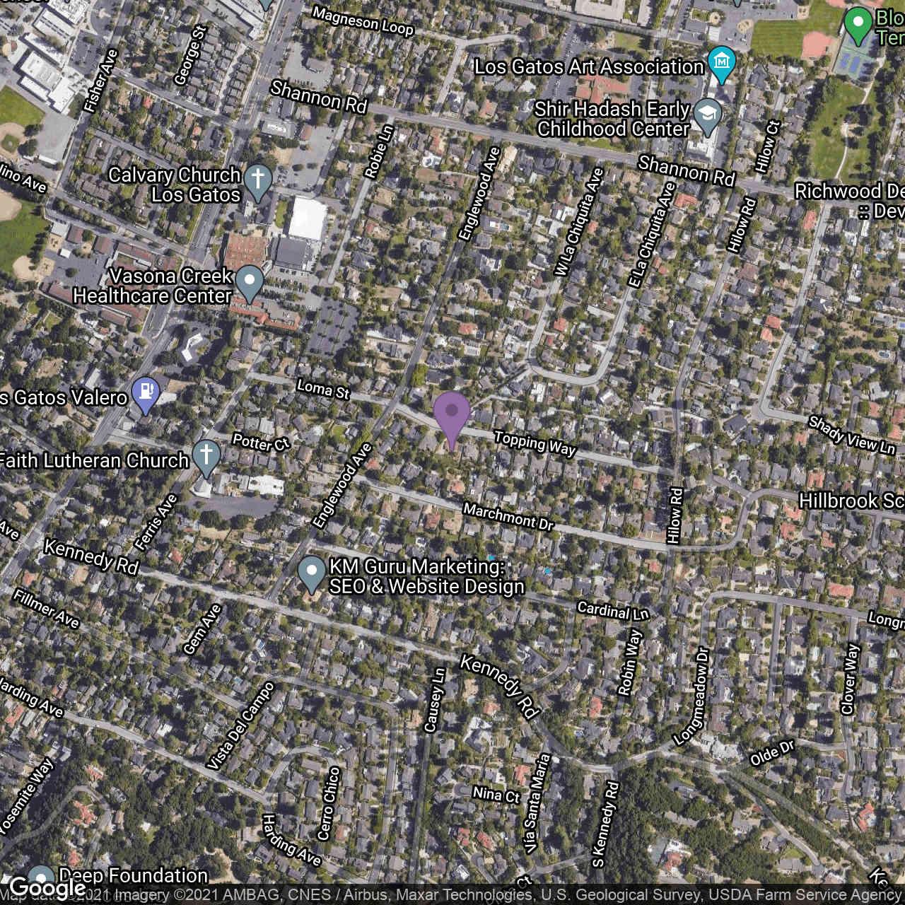 16666 Topping Way, Los Gatos, CA, 95032,