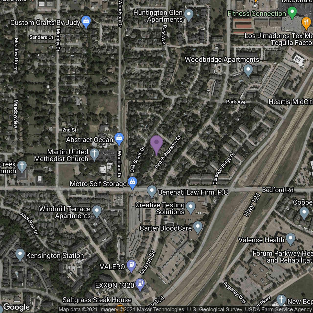 2421 Peach Blossom Court, Bedford, TX, 76021,