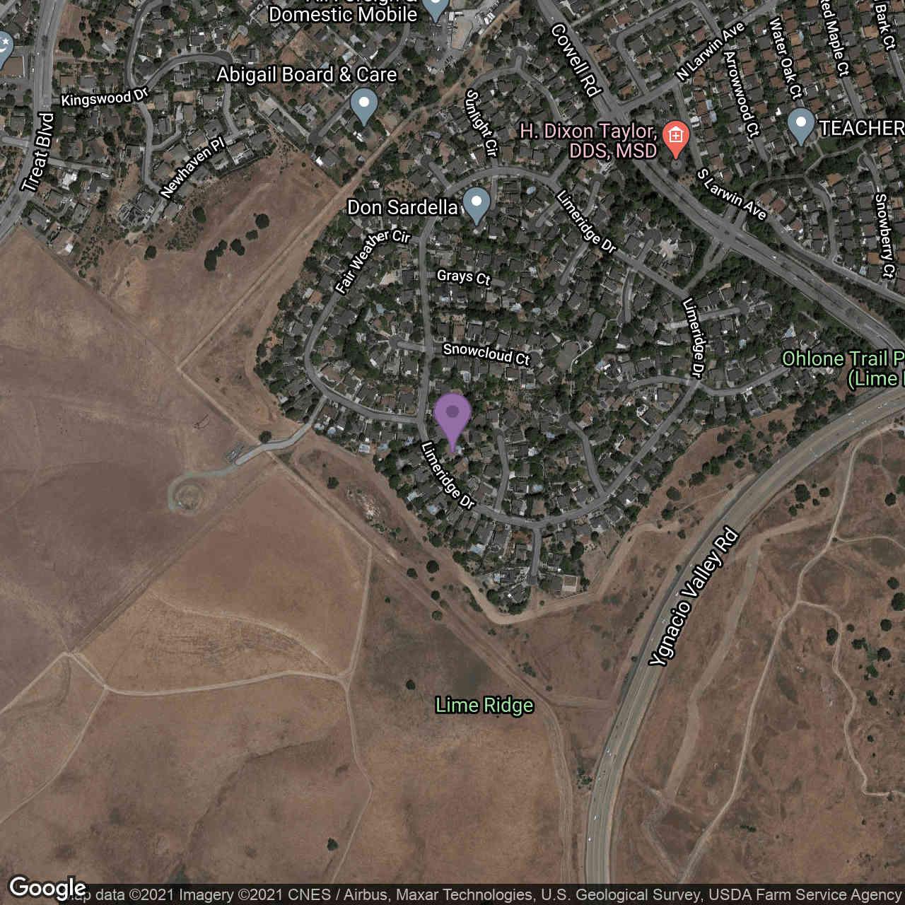 1208 Limeridge Drive, Concord, CA, 94518,