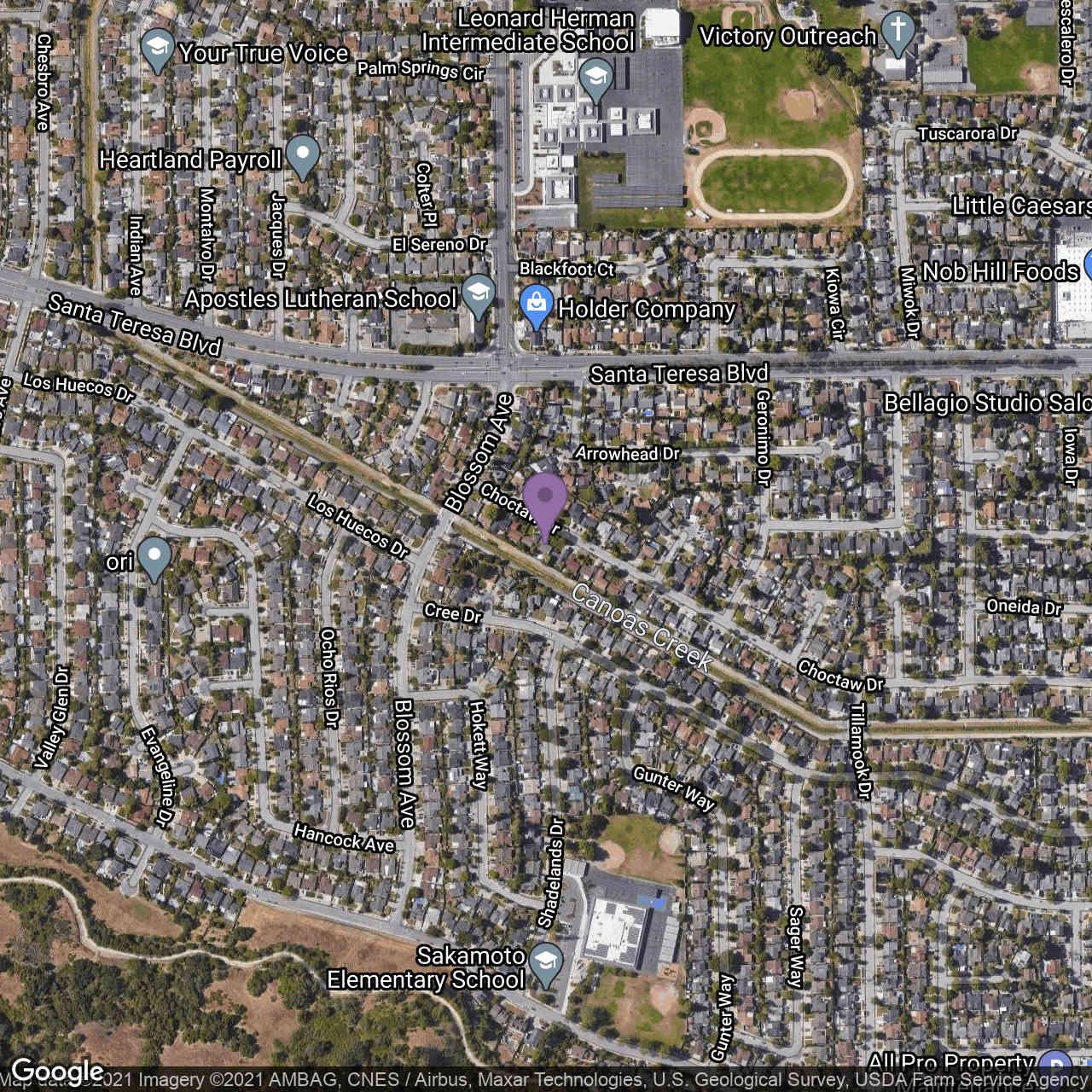 724 Choctaw Drive, San Jose, CA, 95123,