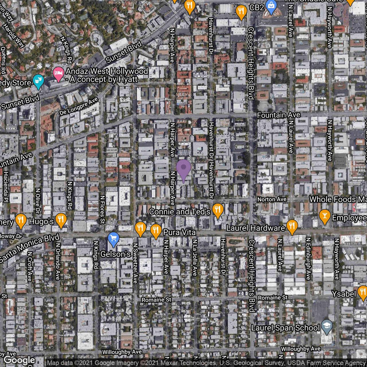 1220 N Harper Avenue, West Hollywood, CA, 90046,