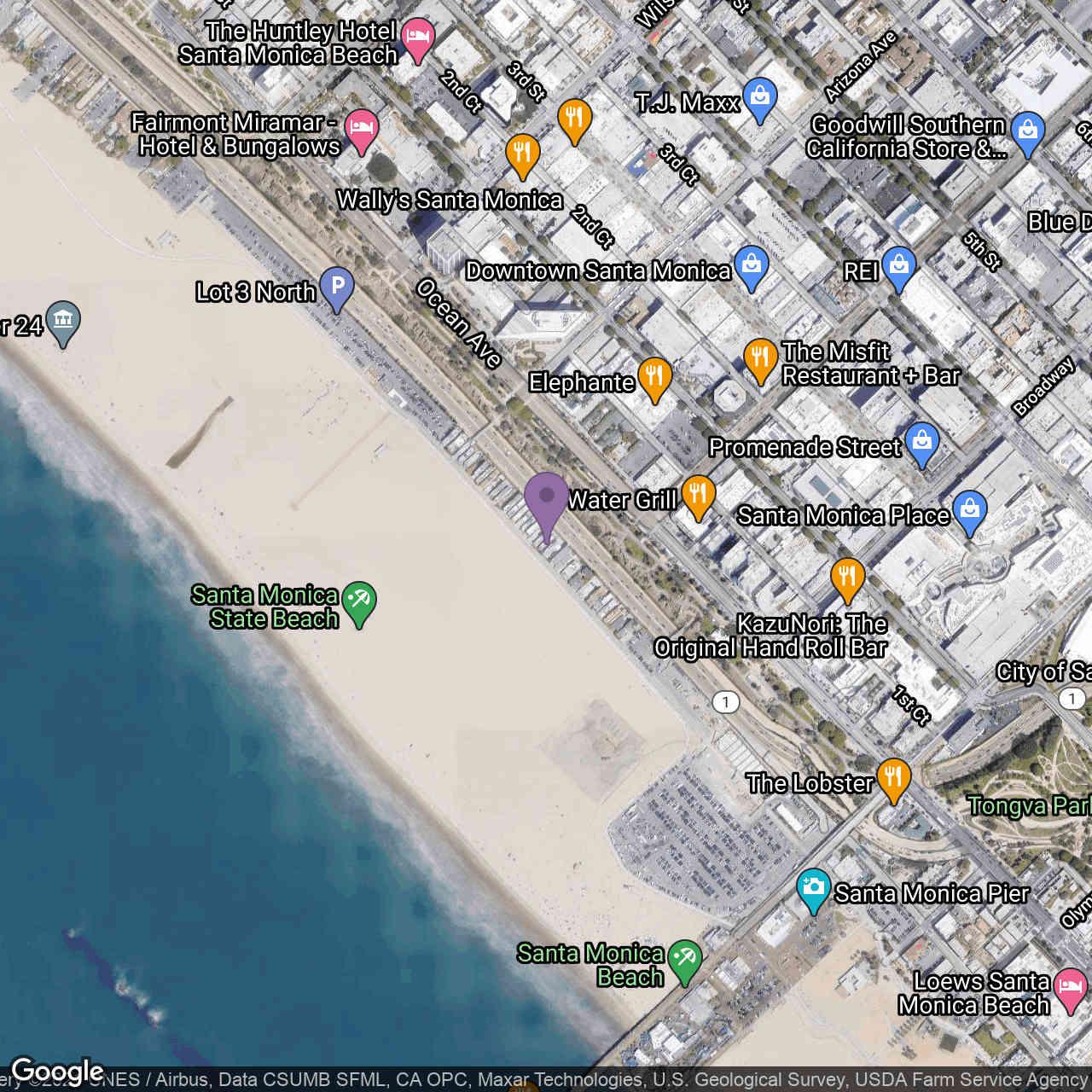 1343 Palisades Beach Road, Santa Monica, CA, 90401,