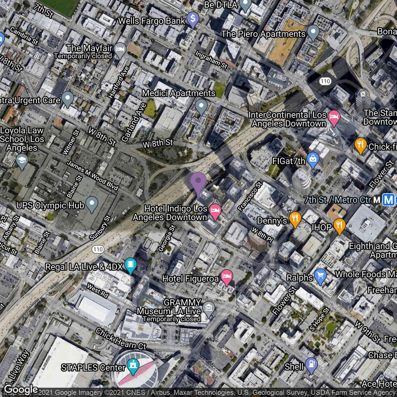 889 FRANCISCO Street #1208, Los Angeles, CA, 90017,