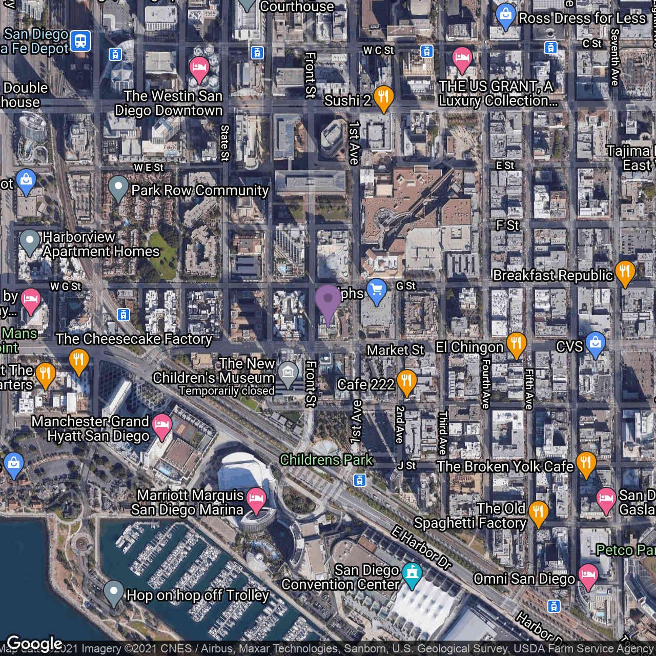 645 Front Street #1403, San Diego, CA, 92101,