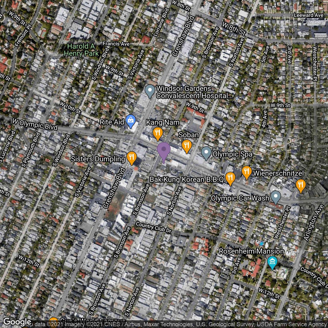 1010 S Bronson Avenue, Los Angeles, CA, 90019,