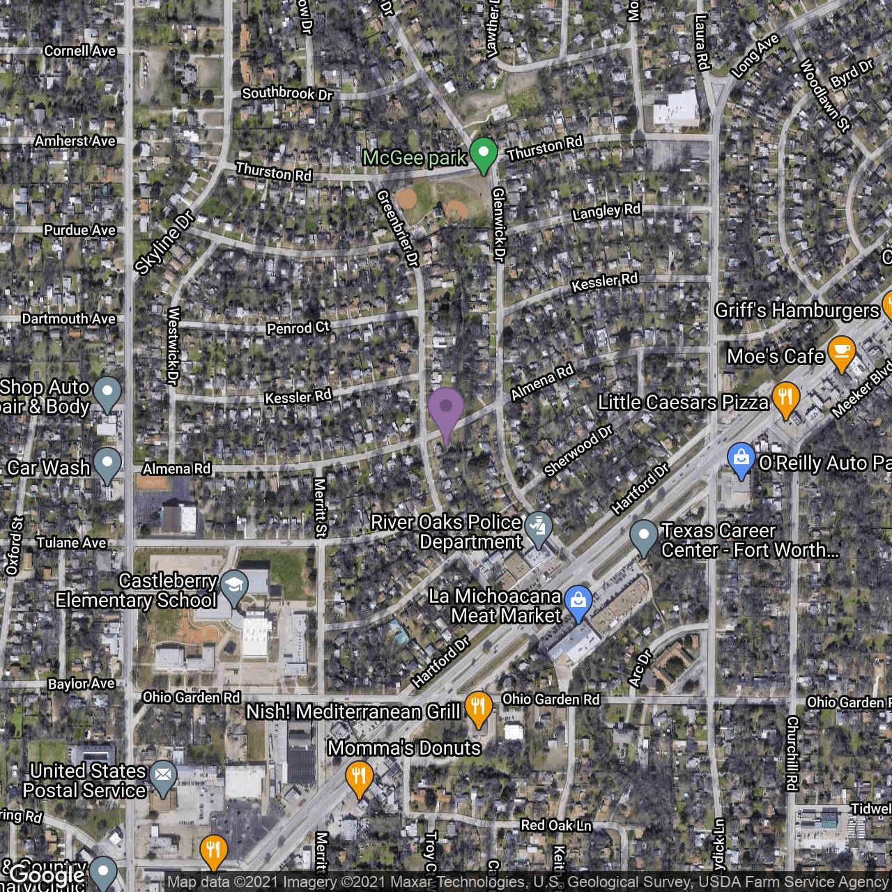 1220 Greenbrier Drive, River Oaks, TX, 76114,