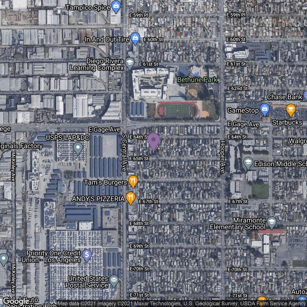 1137 E 65th Street, Los Angeles, CA, 90001,