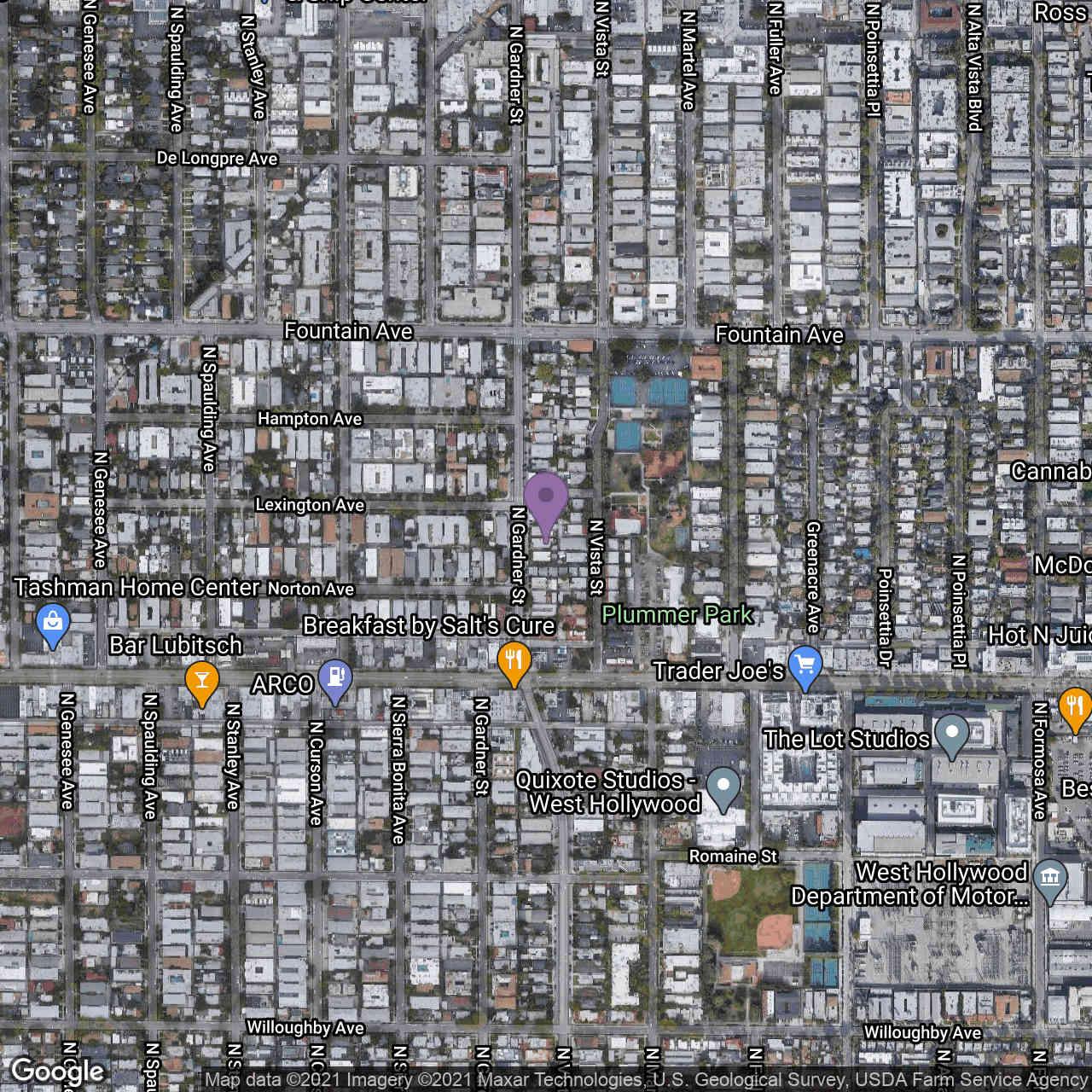 1150 N Gardner Street, West Hollywood, CA, 90046,