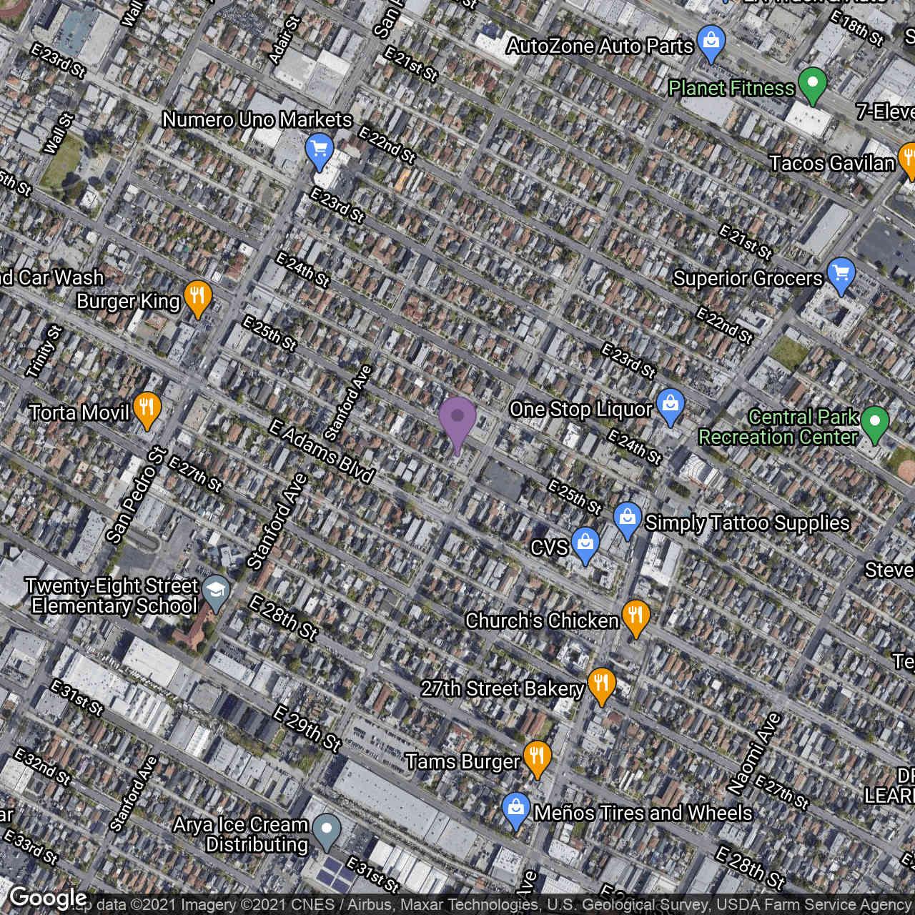 850 East 25th Street, Los Angeles, CA, 90011,