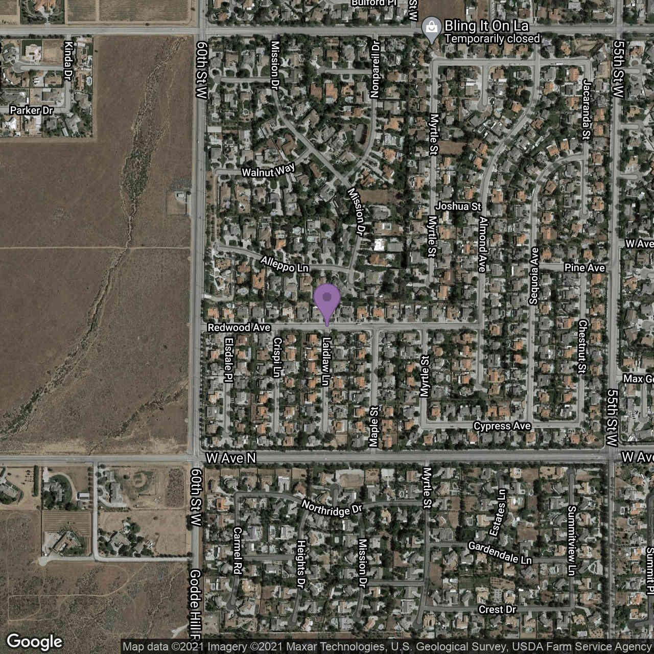 0 Vac/Laidlaw 58w /Vic Avenue M8, Quartz Hill, CA, 93536,