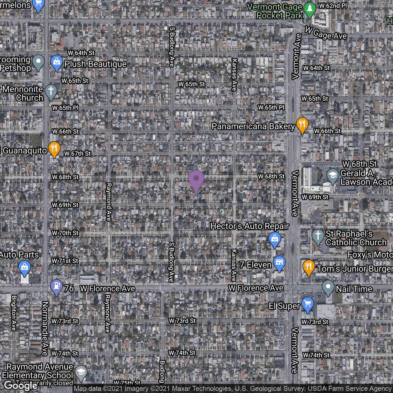 1139 W 69th Street, Los Angeles, CA, 90044,