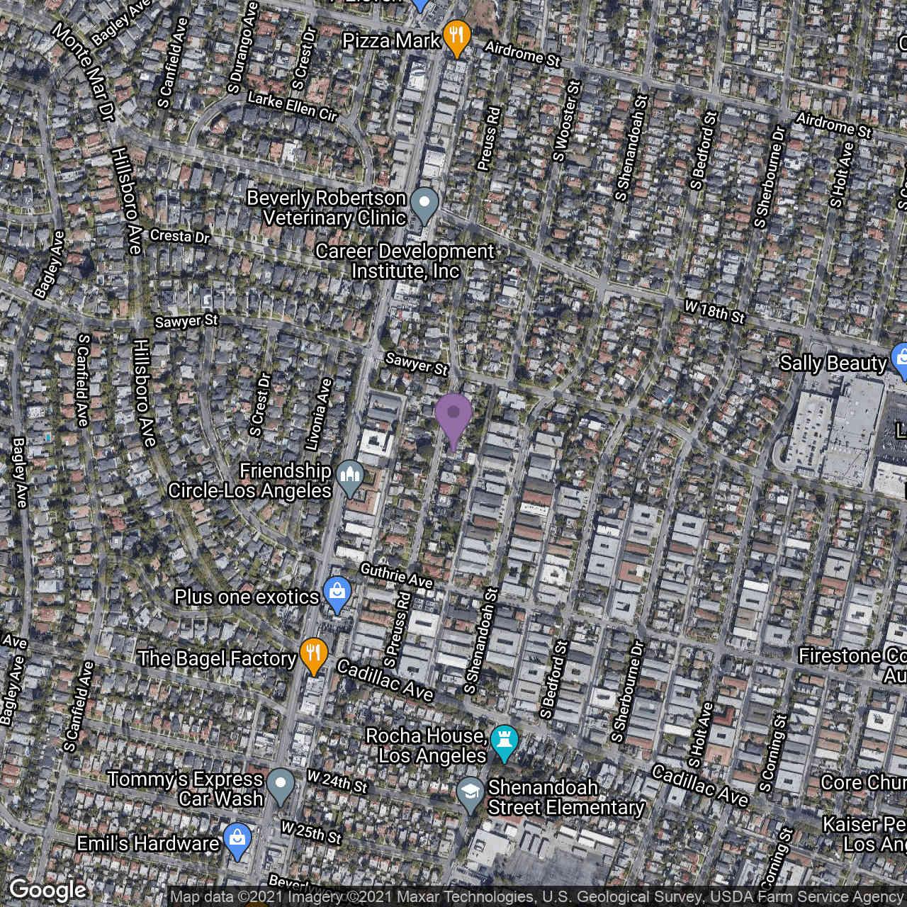 1920 Preuss Road, Los Angeles, CA, 90034,