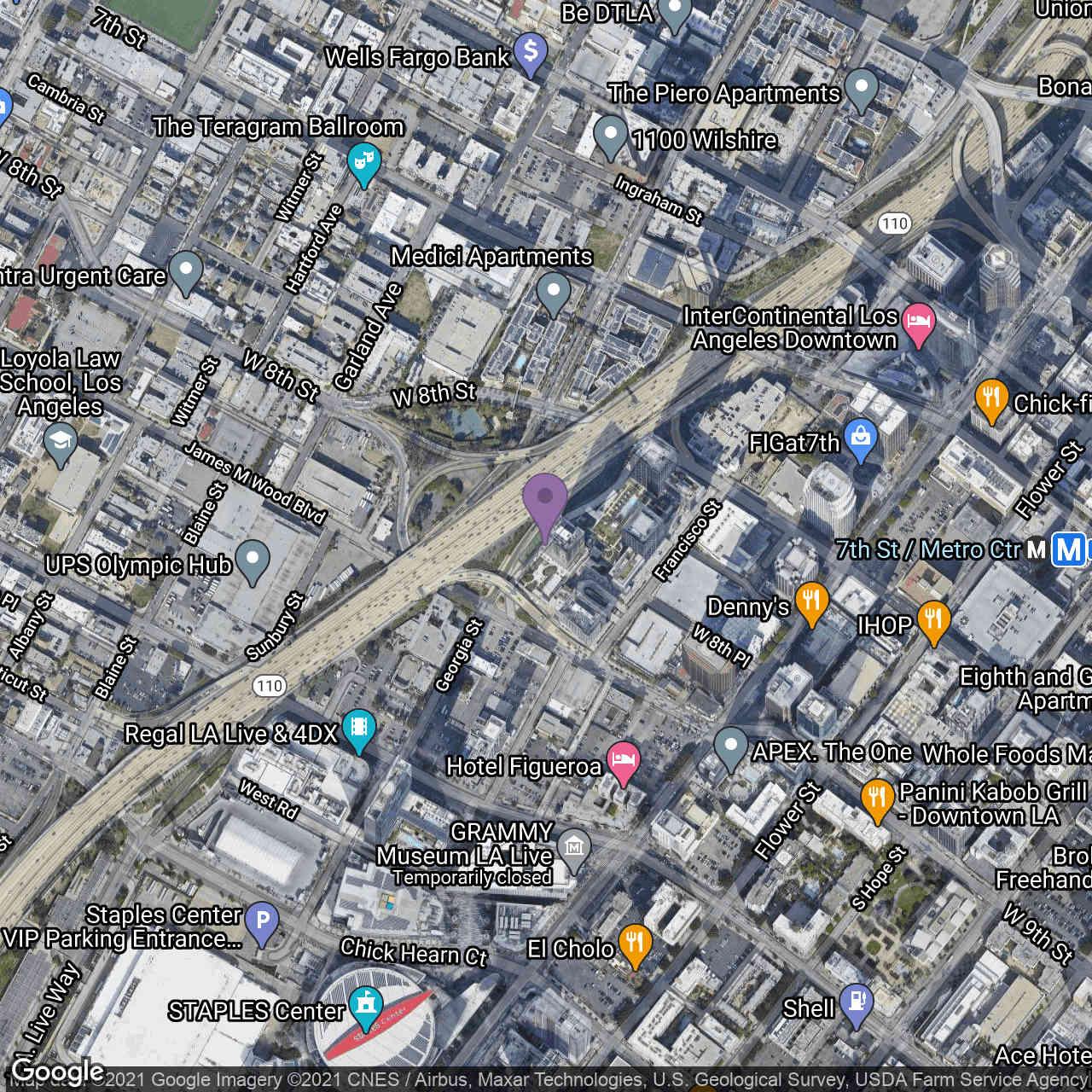 889 Francisco Street #1903, Los Angeles, CA, 90017,