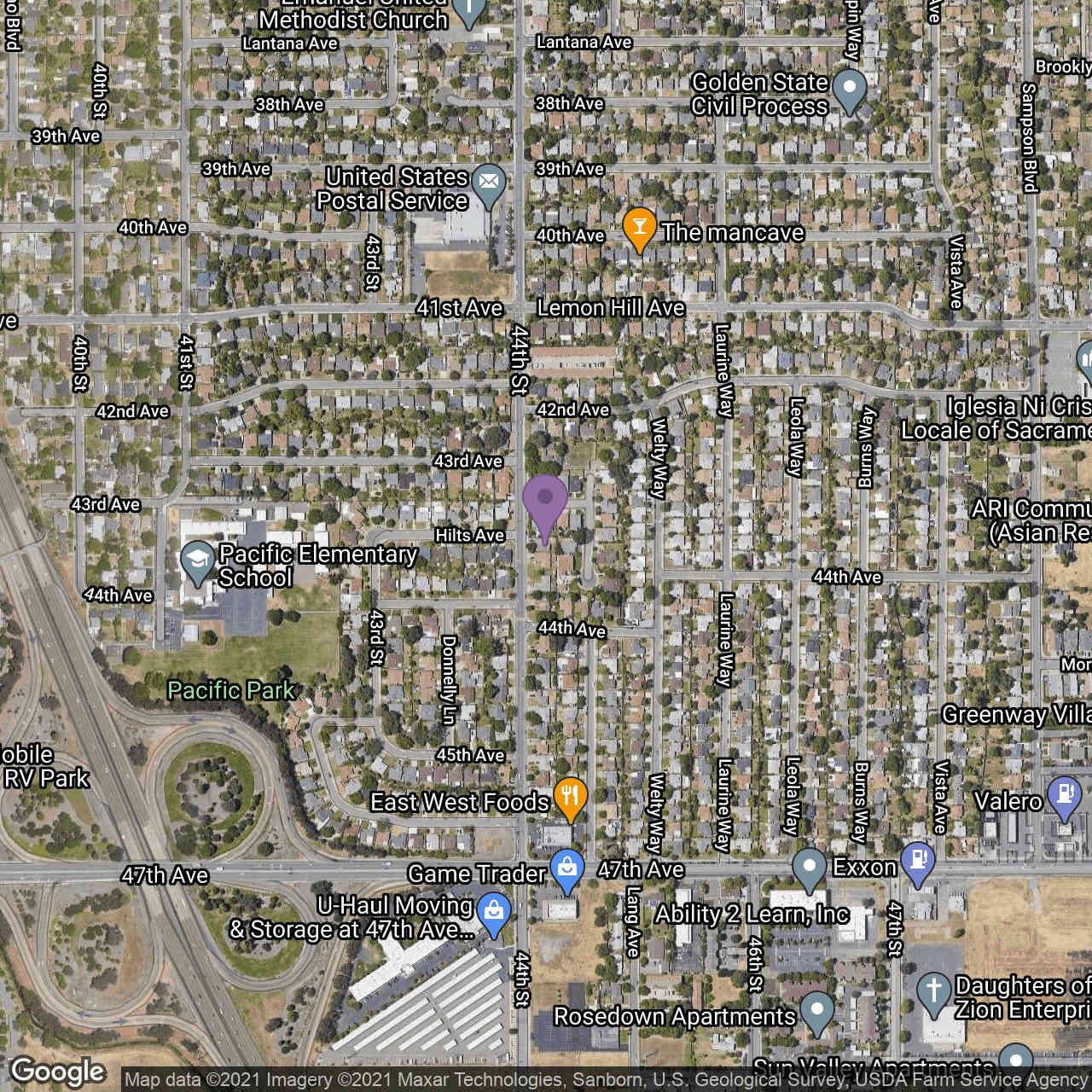 6207 44th Street, Sacramento, CA, 95824,