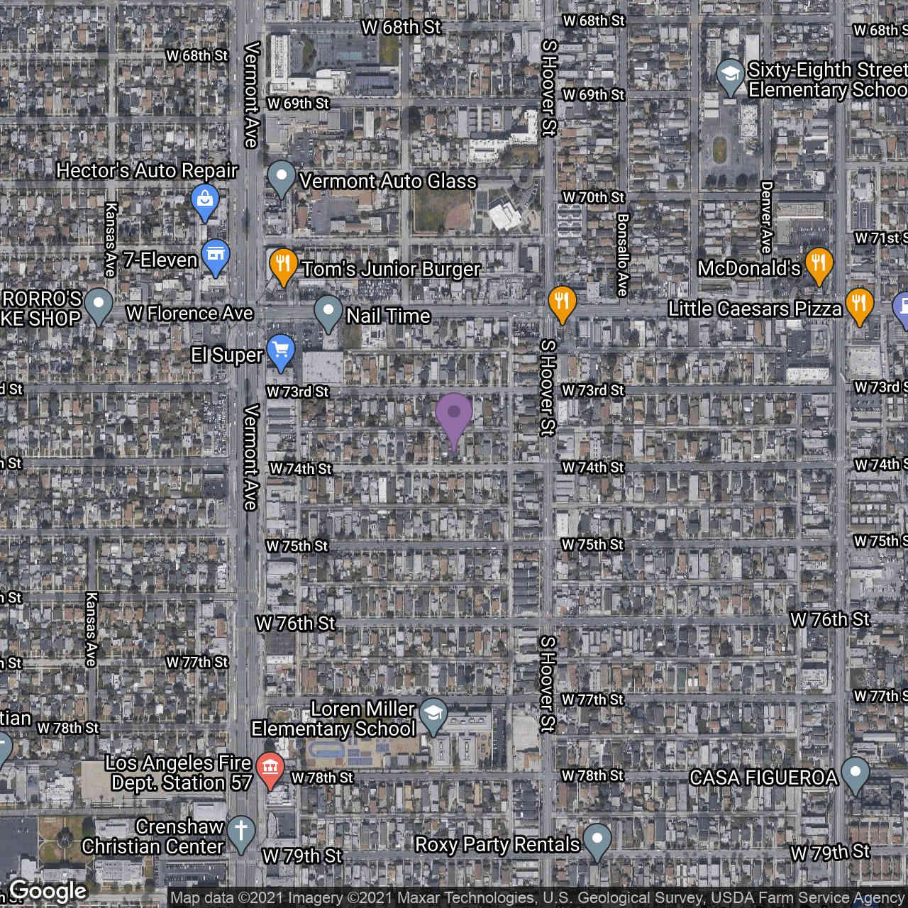 841 W 74Th Street, Los Angeles, CA, 90044,