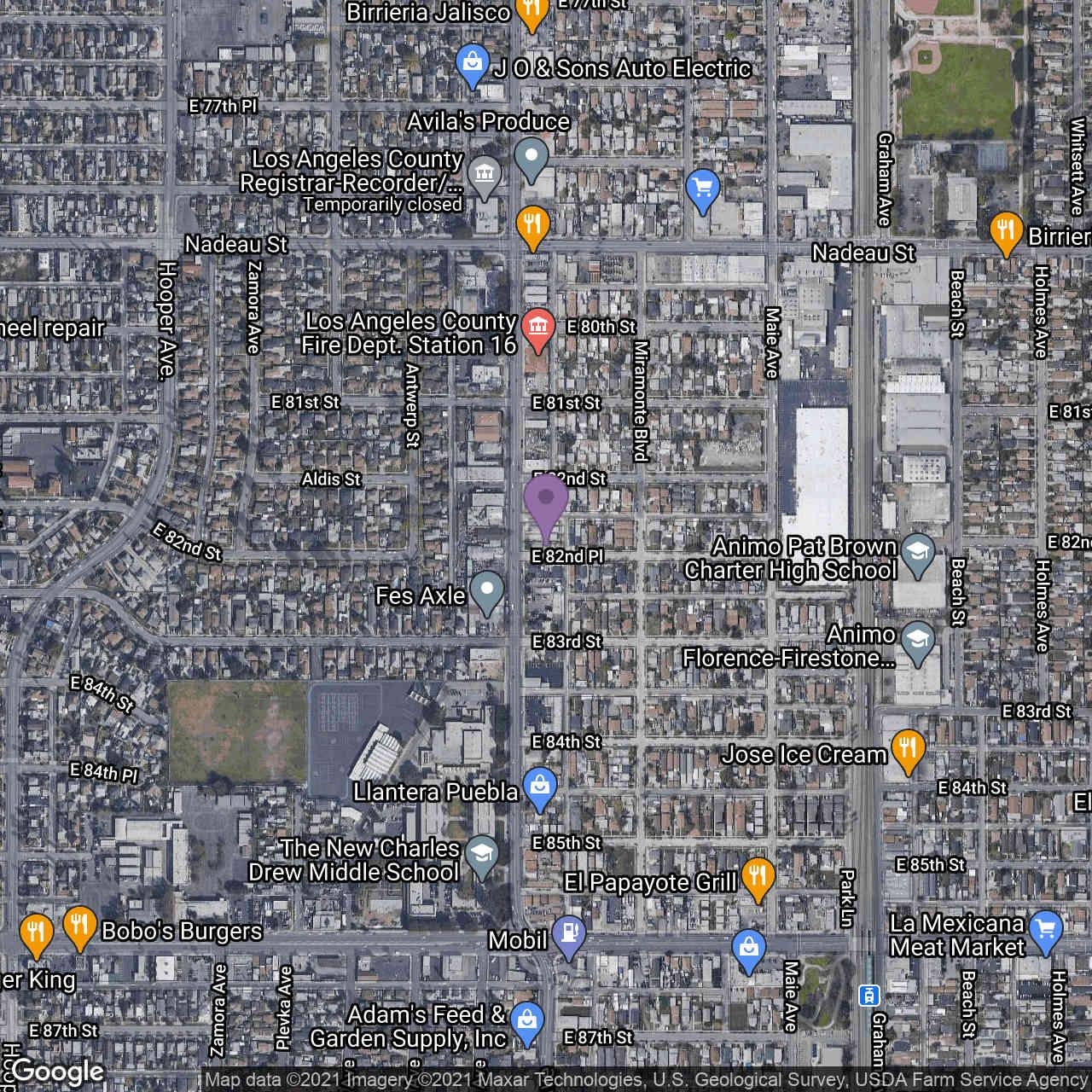 8230 Compton Avenue, Los Angeles, CA, 90001,