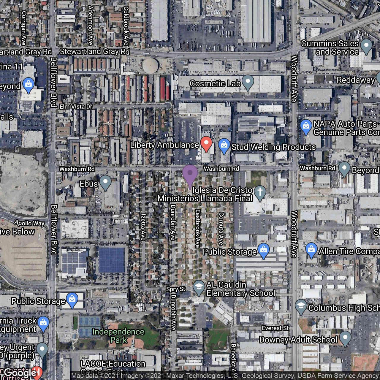 12121 Eastbrook Avenue, Downey, CA, 90242,