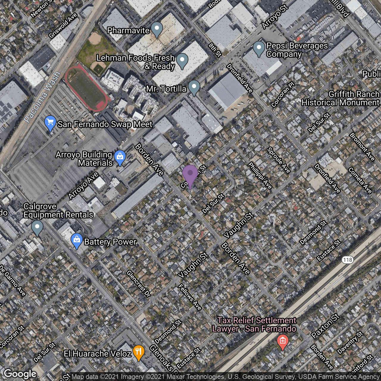 13136 Corcoran Street, San Fernando, CA, 91340,