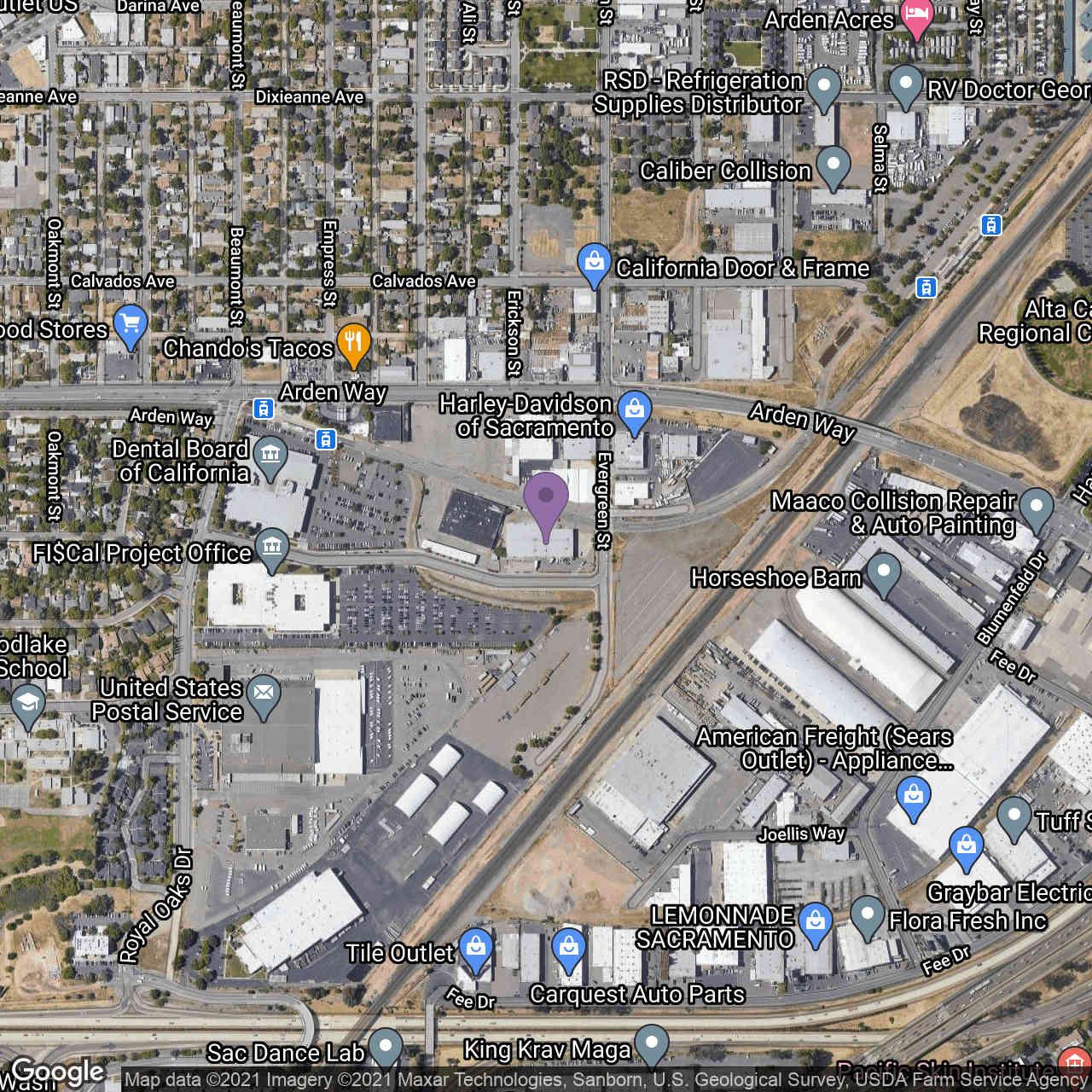 2101 Evergreen Street, Sacramento, CA, 95815,