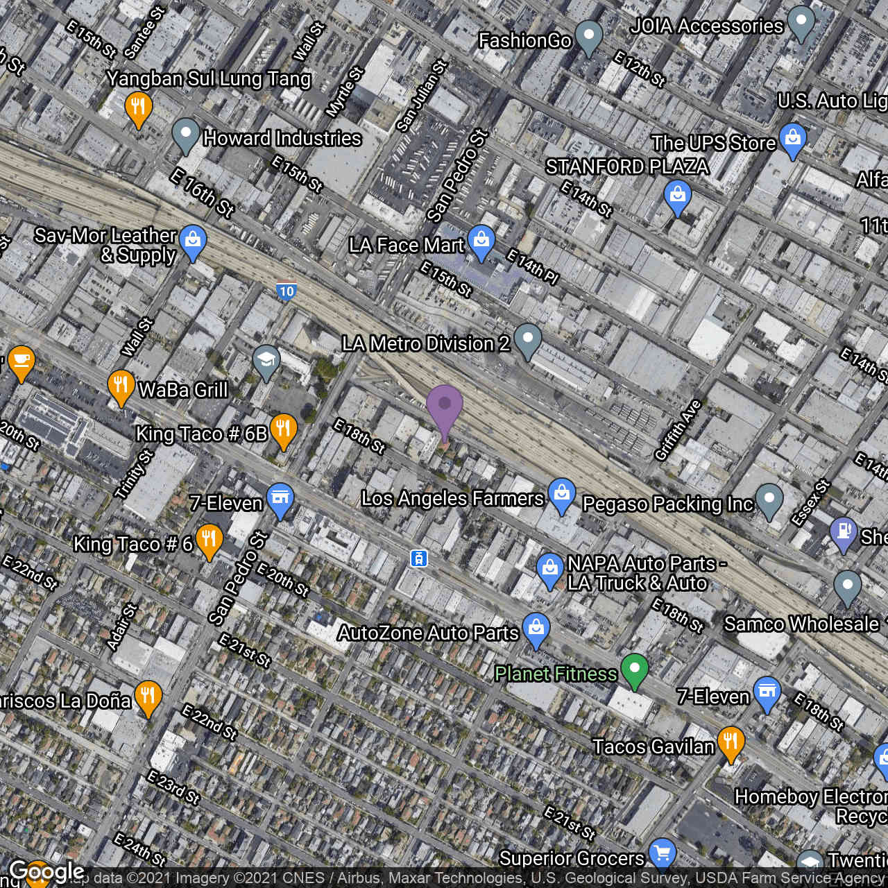 752 E 17th St., Los Angeles, CA, 90021,