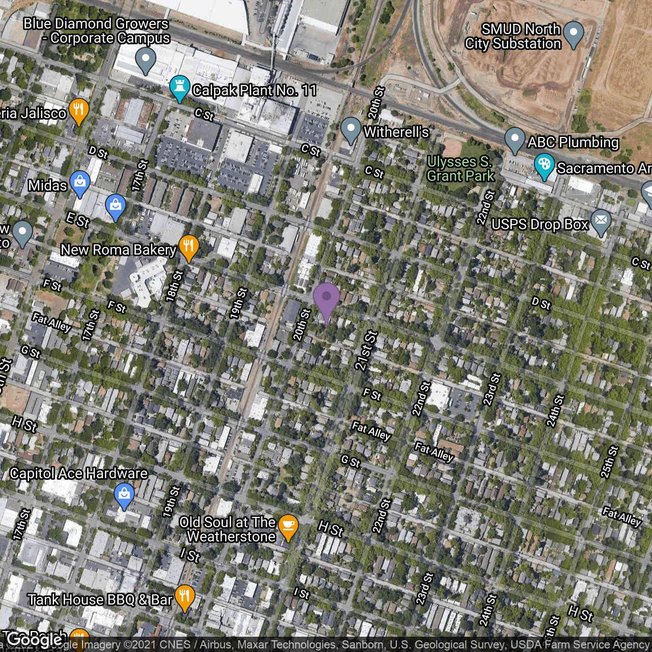 2010 E Street, Sacramento, CA, 95811,