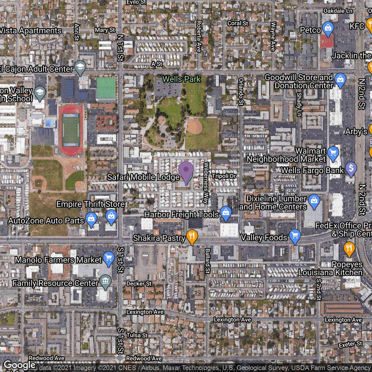 1174 E Main St #SPC 156, El Cajon, CA, 92021,