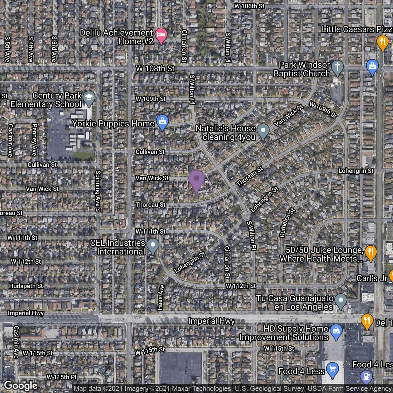 2073 Thoreau Street, Los Angeles, CA, 90047,