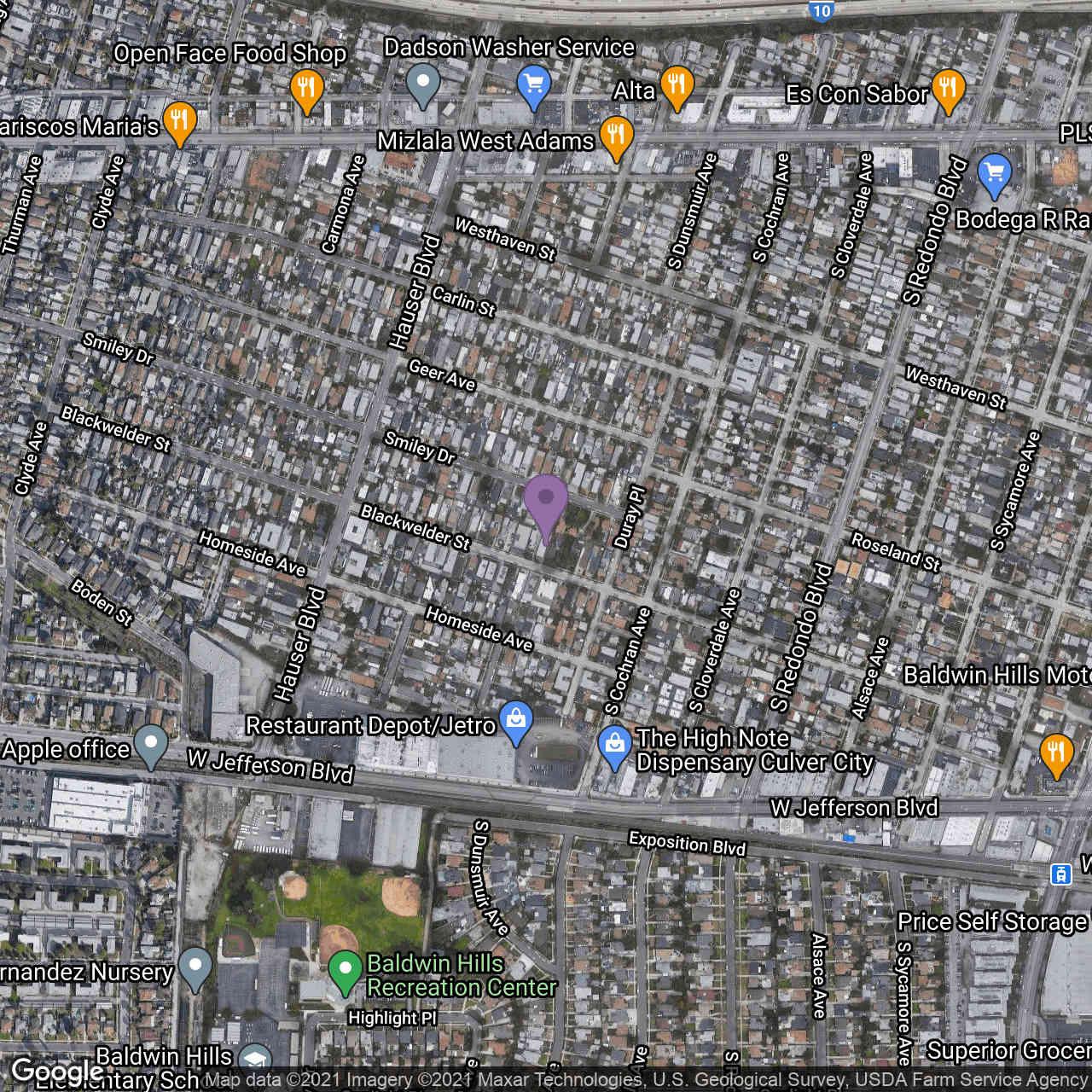 5347 Blackwelder Street, Los Angeles, CA, 90016,