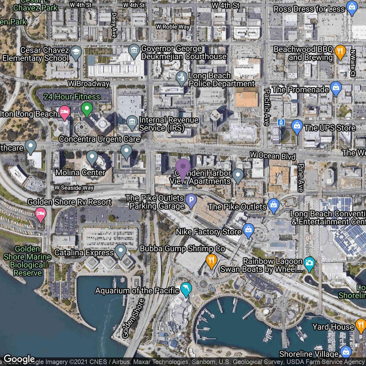 411 W Seaside Way #403, Long Beach, CA, 90802,