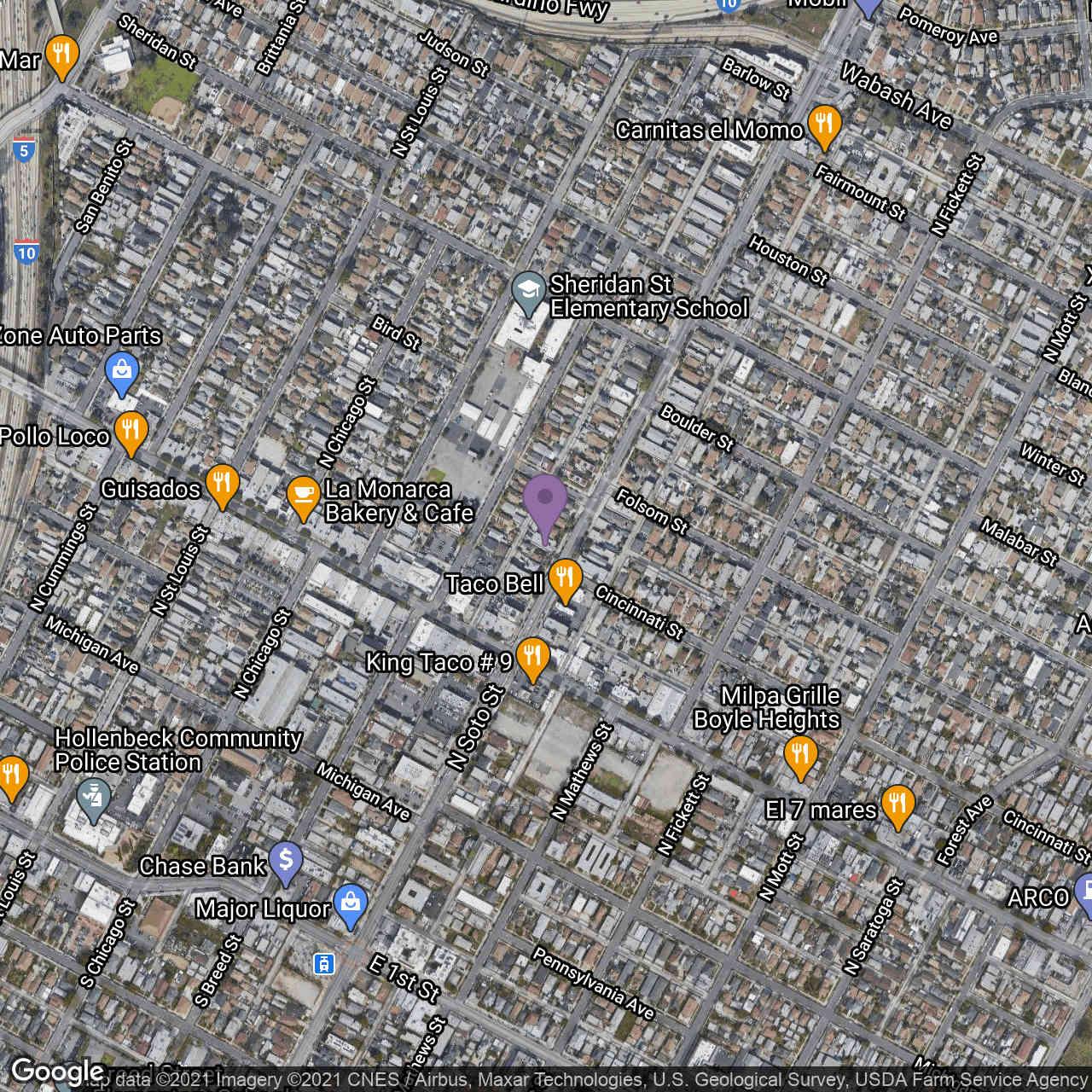 405 N Soto Street, Los Angeles, CA, 90033,