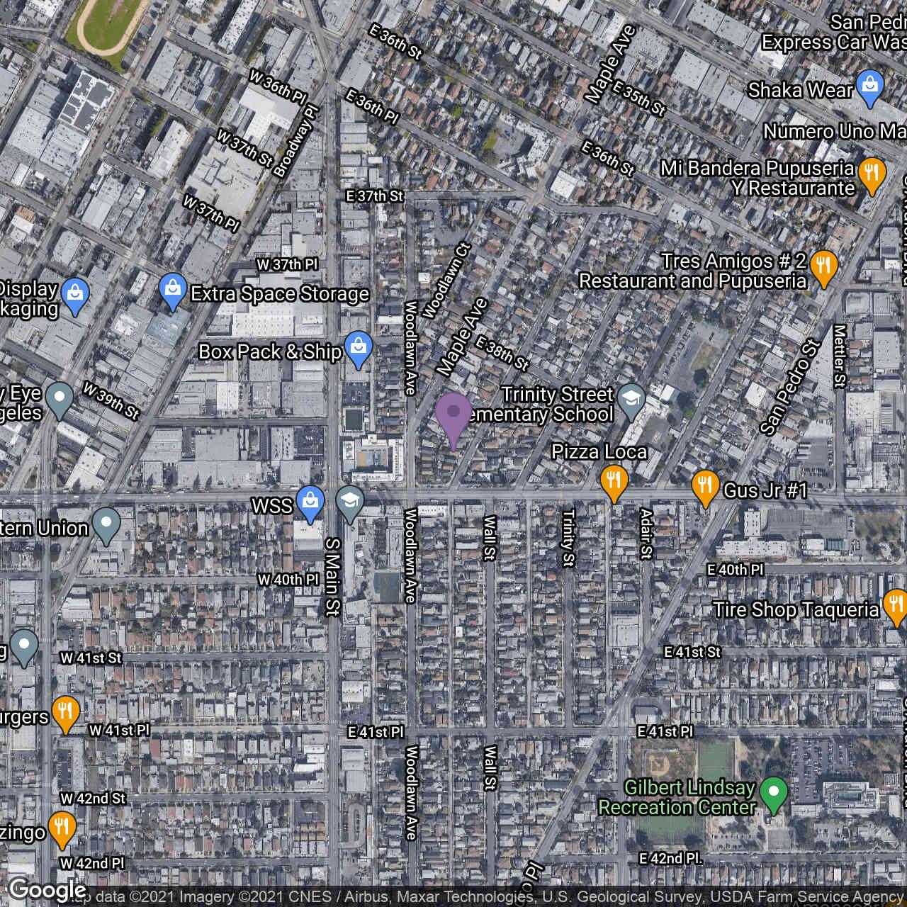 3841 Wall Street, Los Angeles, CA, 90011,