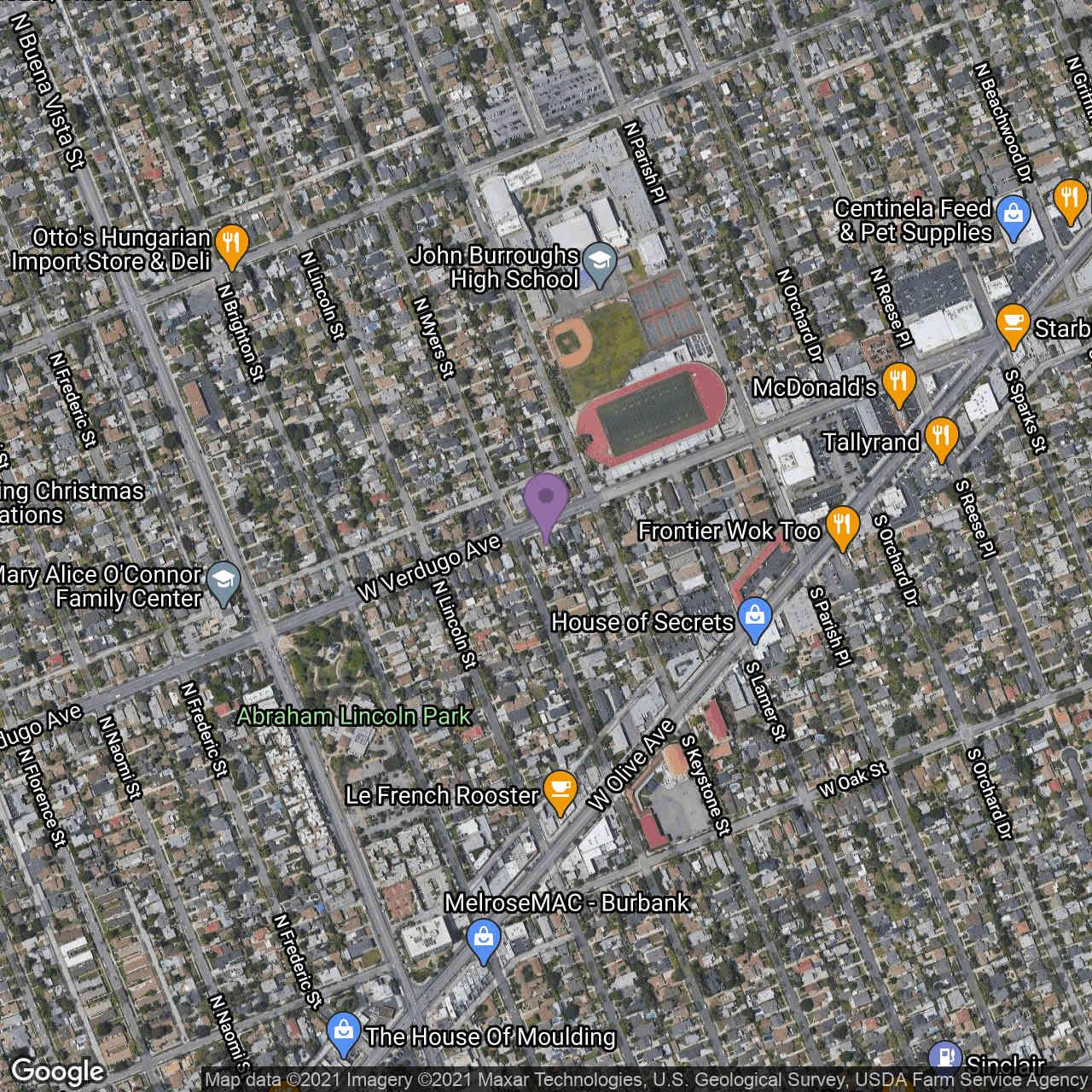2116 W Verdugo Avenue, Burbank, CA, 91506,