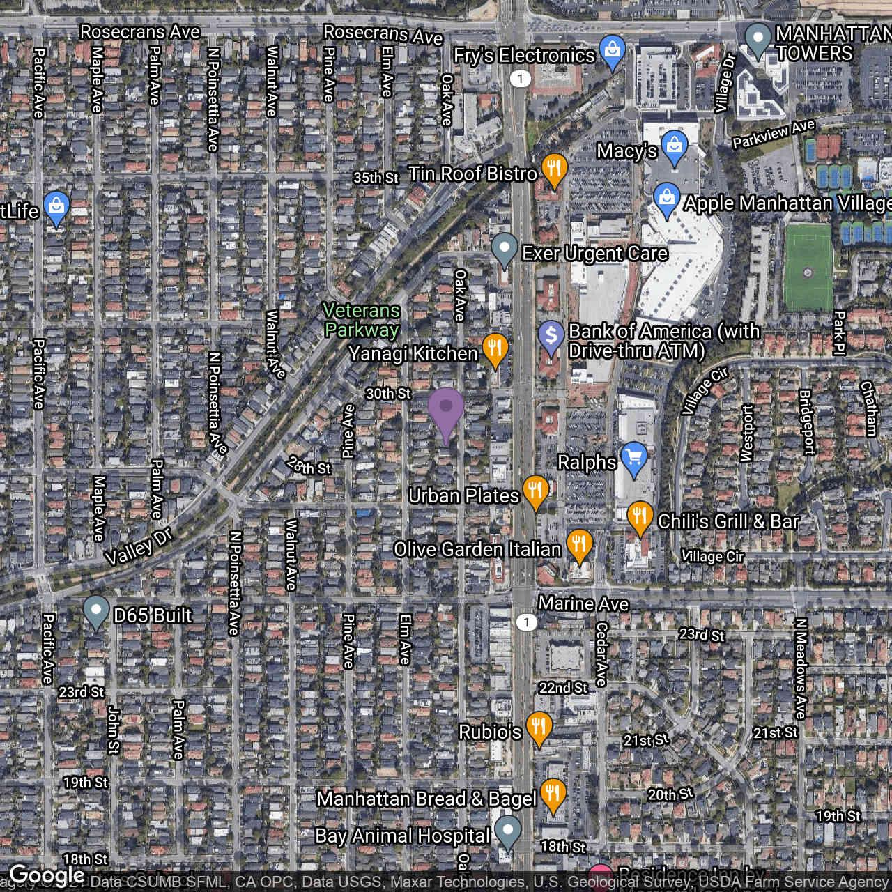 2809 Oak Avenue, Manhattan Beach, CA, 90266,