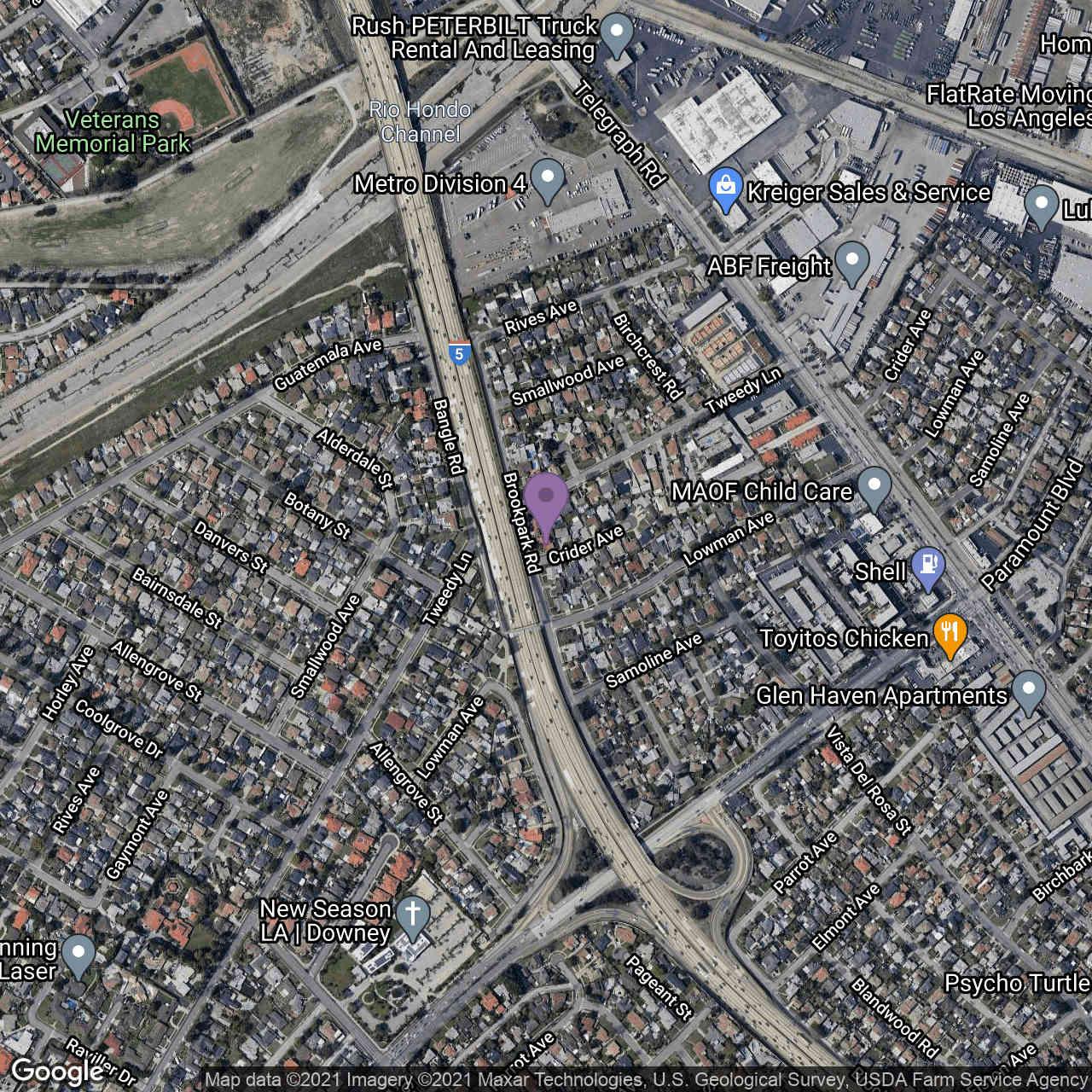 7913 Brookpark Road, Downey, CA, 90240,