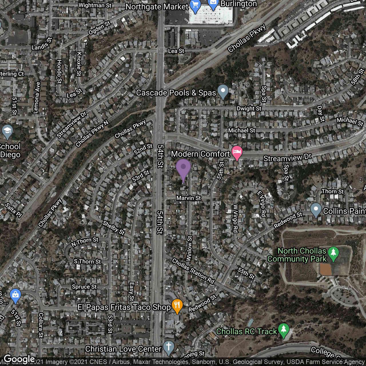3318 Winlow St., San Diego, CA, 92105,