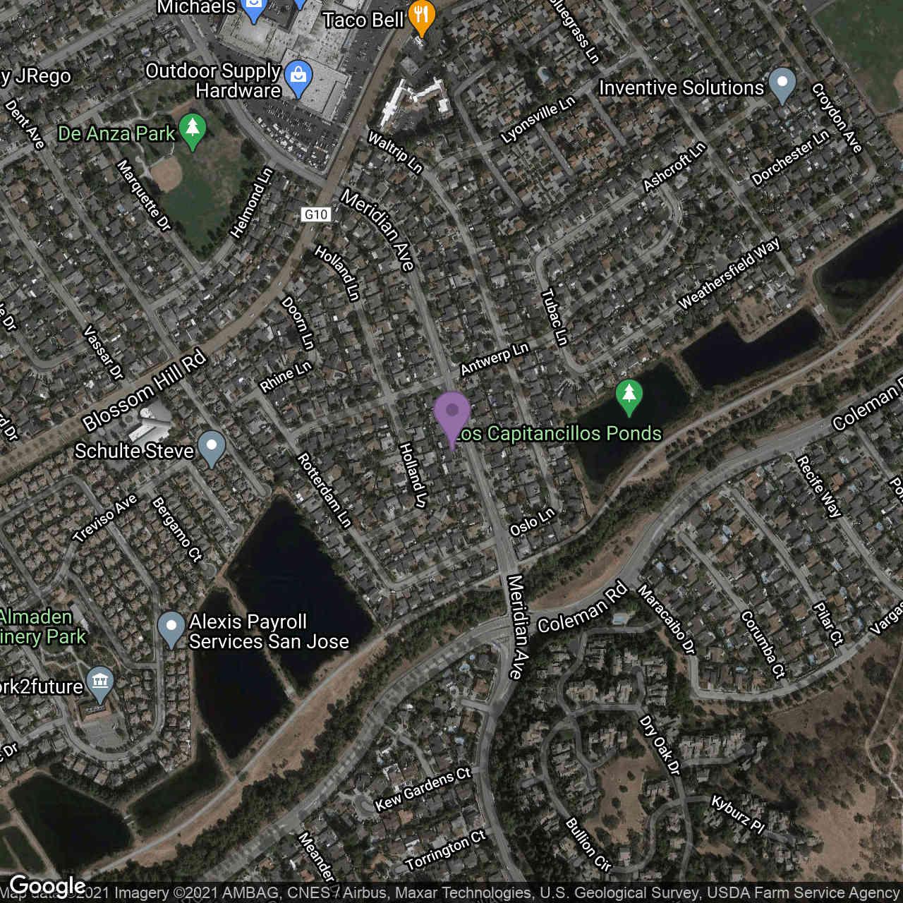 5739 Meridian Avenue, San Jose, CA, 95118,
