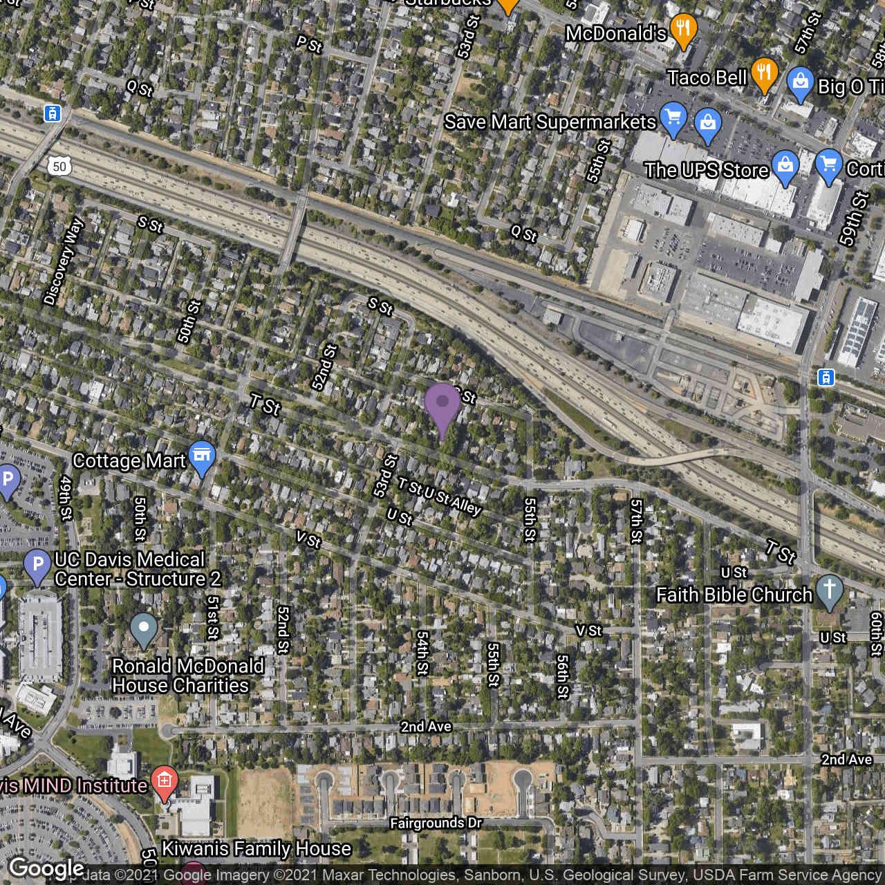 5341 T Street, Sacramento, CA, 95819,