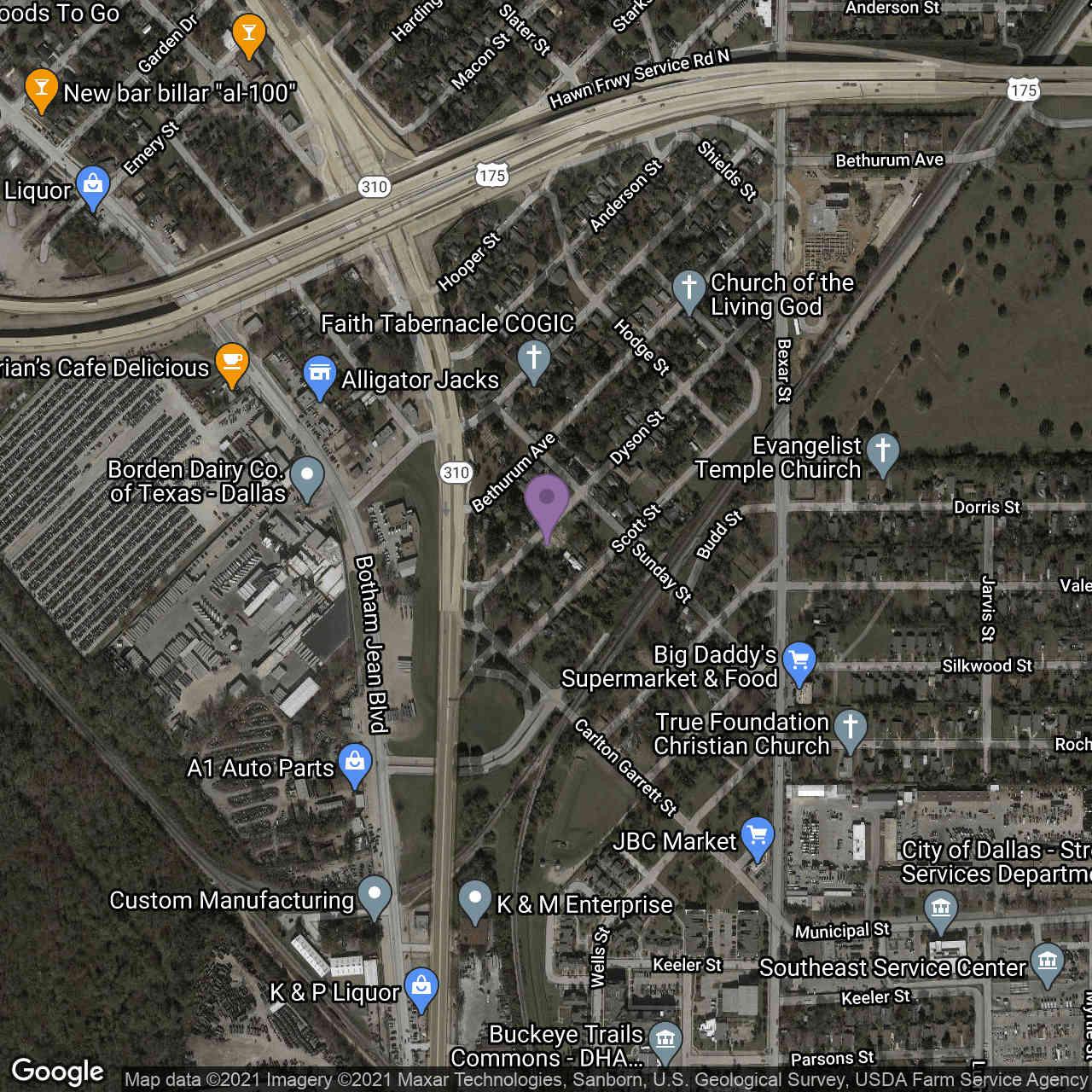 2224 Dyson Street, Dallas, TX, 75215,