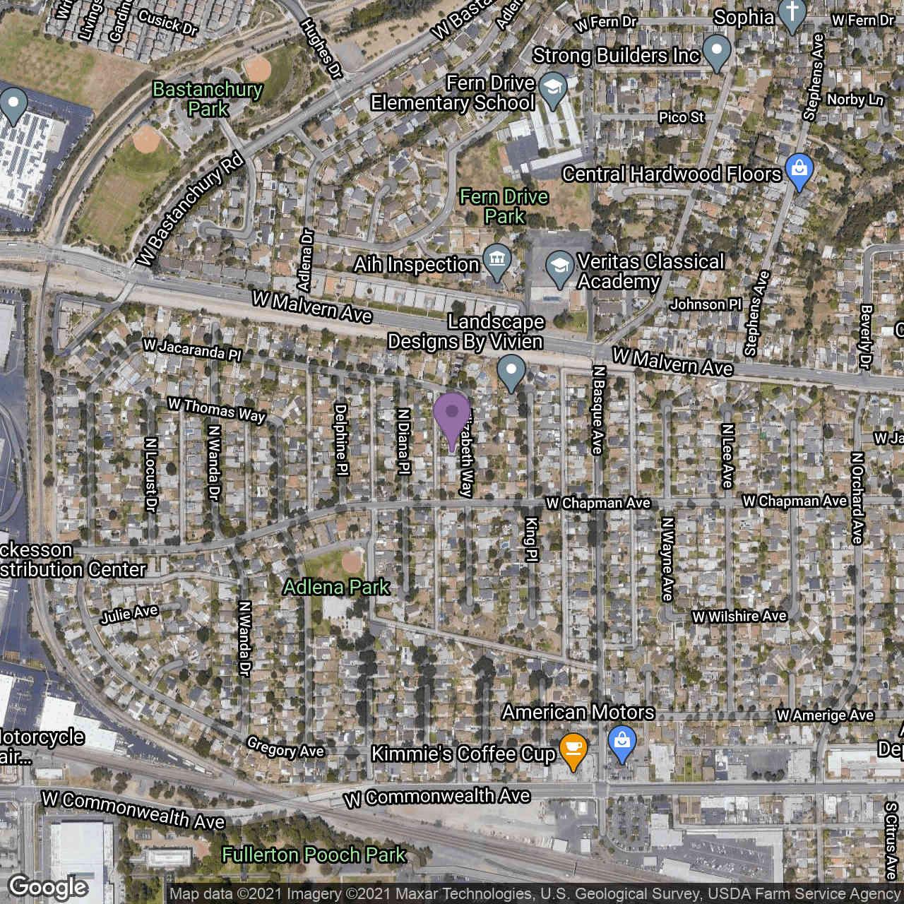 413 Elizabeth Way, Fullerton, CA, 92833,