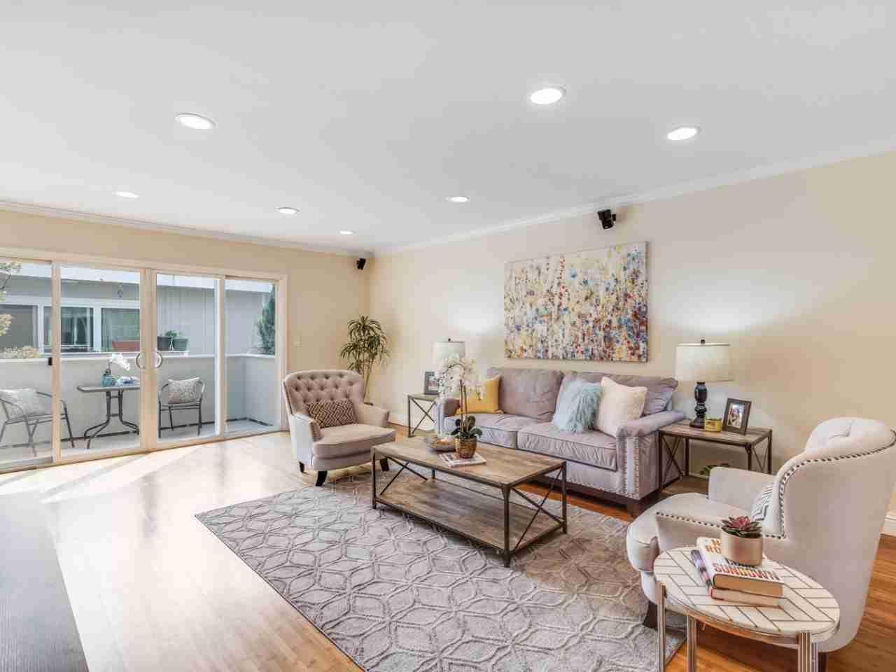 Sunny Living Room, 1898 Meridian Avenue #44 San Jose, CA, 95125
