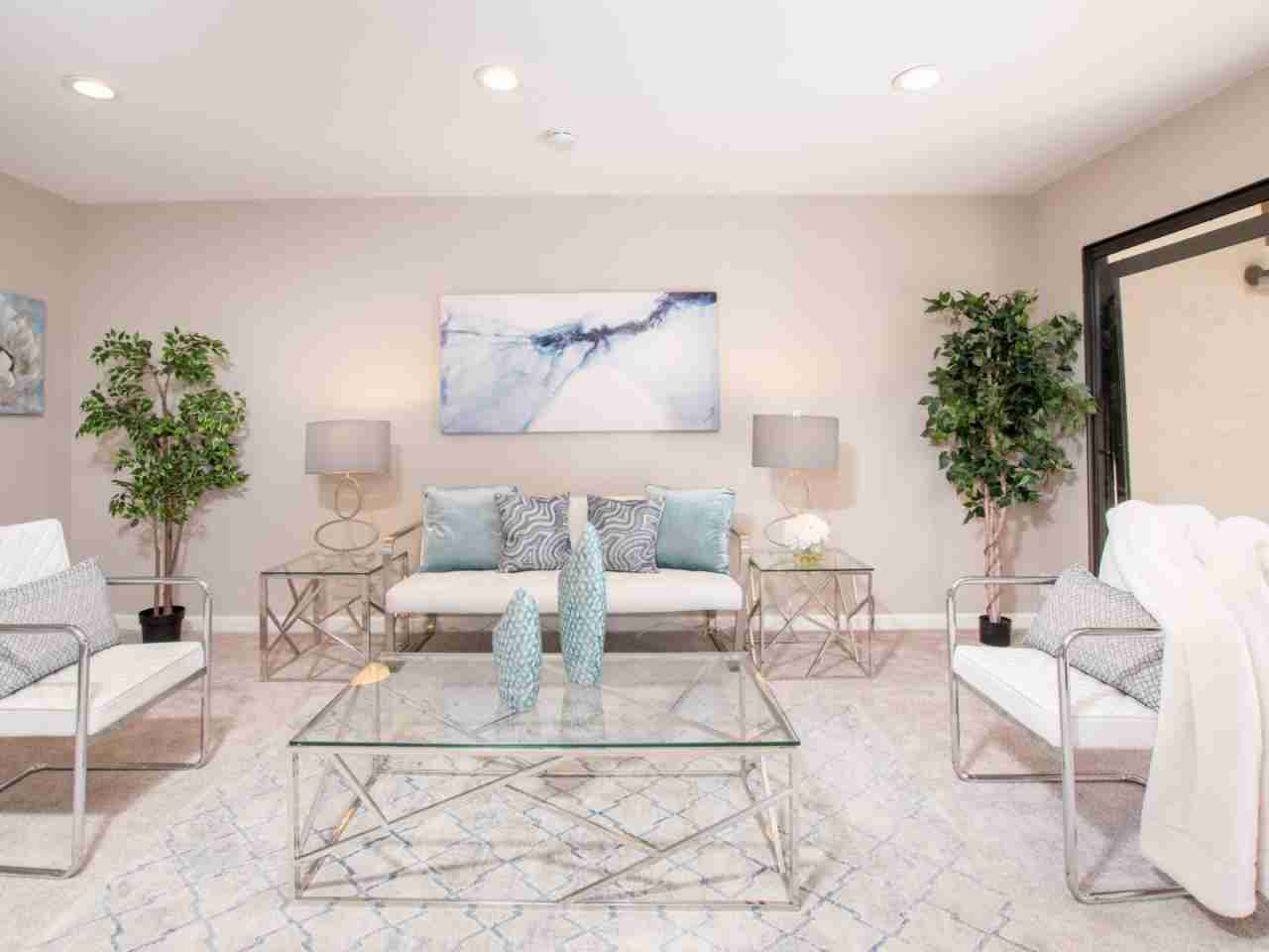 Sunny Living Room, 2201 Monroe Street #1204 Santa Clara, CA, 95050