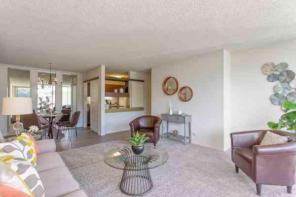 Sunny Living Room, 300 Davey Glen Road #3822, Belmont, CA, 94002,