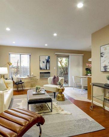 Sunny Living Room, 38627 Cherry Lane #77 Fremont, CA, 94536