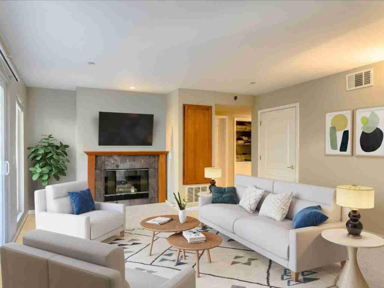 Sunny Living Room, 3875 Carter Drive #106 South San Francisco, CA, 94080