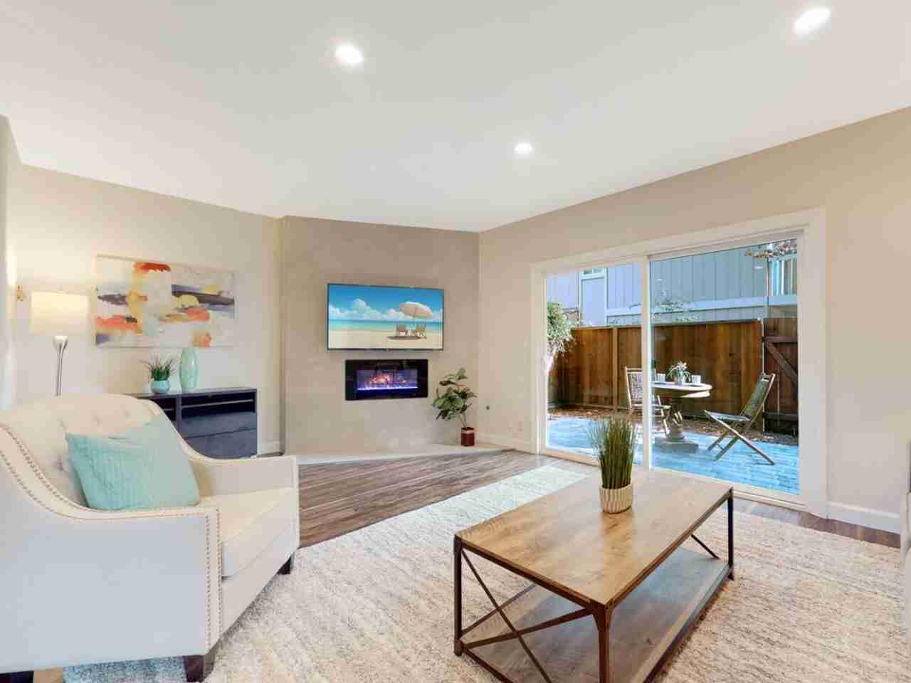 Sunny Living Room, 201 Flynn Avenue #8 Mountain View, CA, 94043