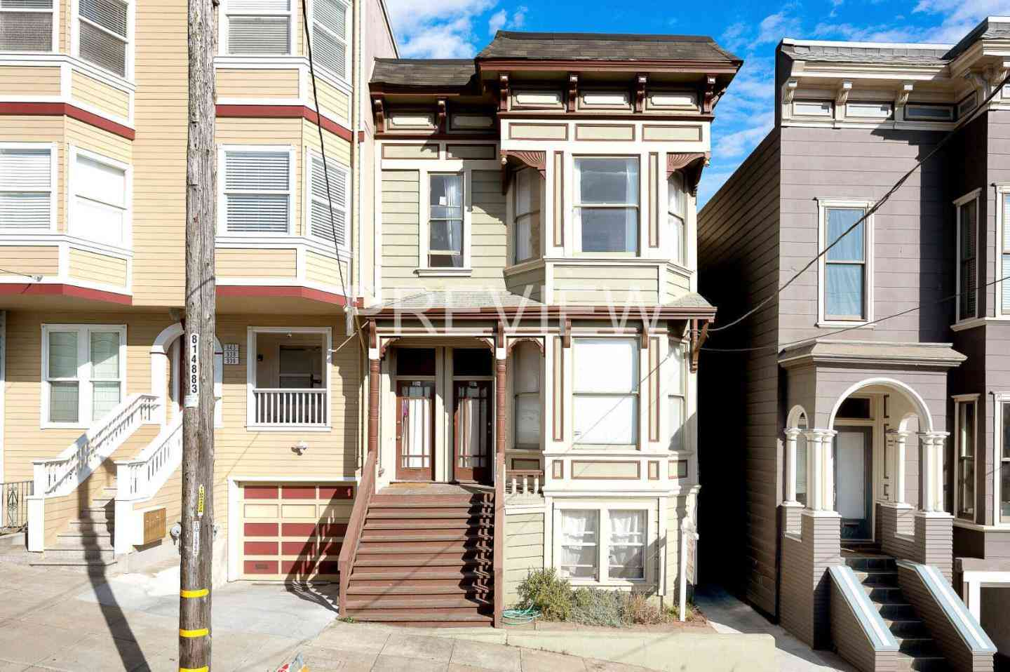 930-934 Central Avenue, San Francisco, CA, 94115,