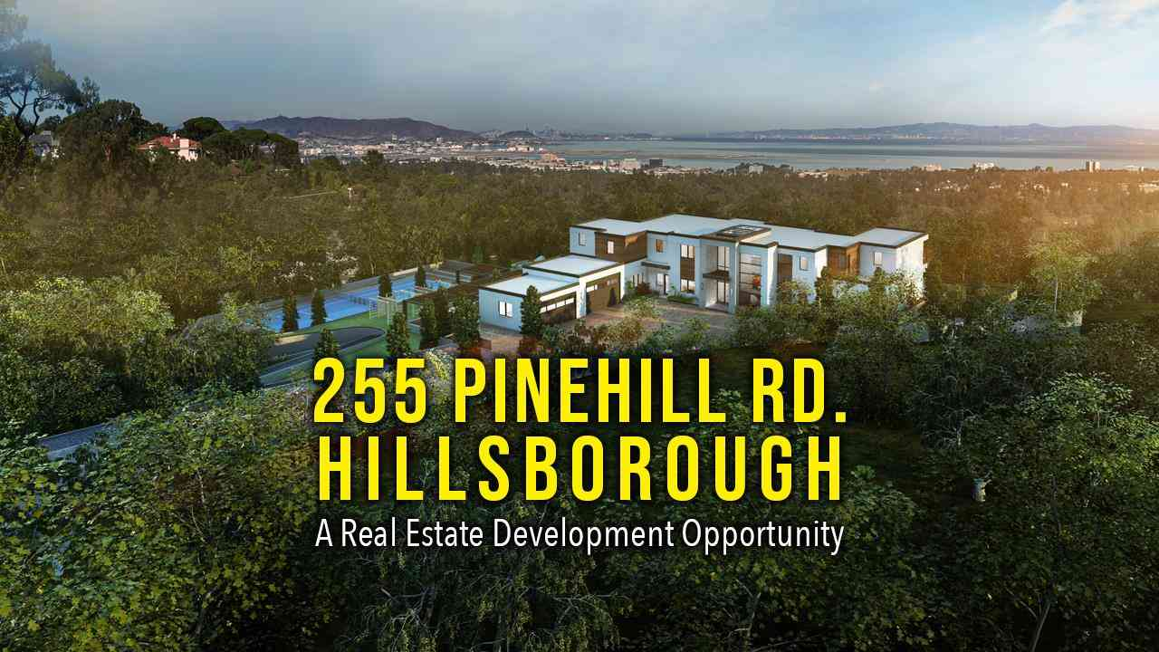 255 Pinehill Road, Hillsborough, CA, 94010,