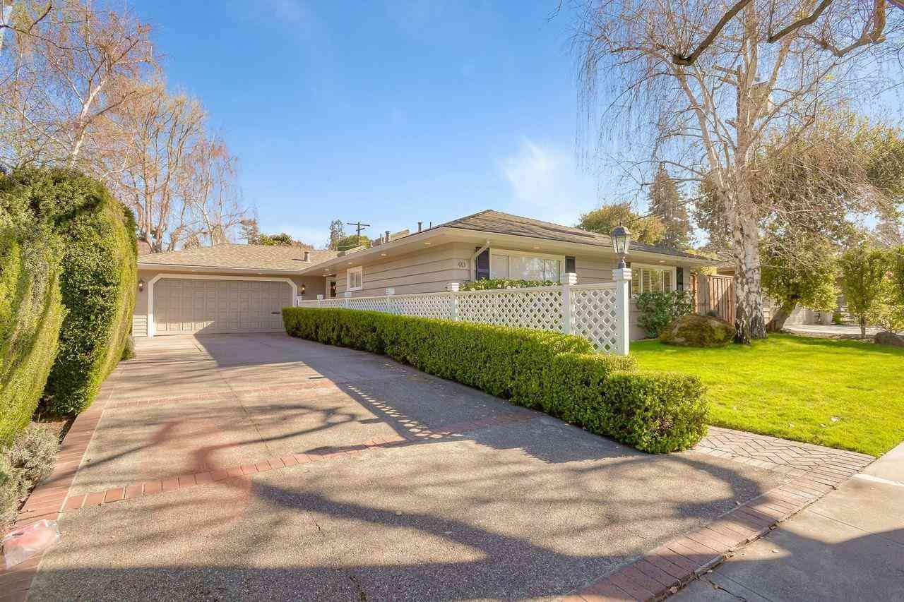 40 Willow Road, Menlo Park, CA, 94025,