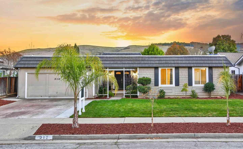 312 Los Pinos Way, San Jose, CA, 95119,