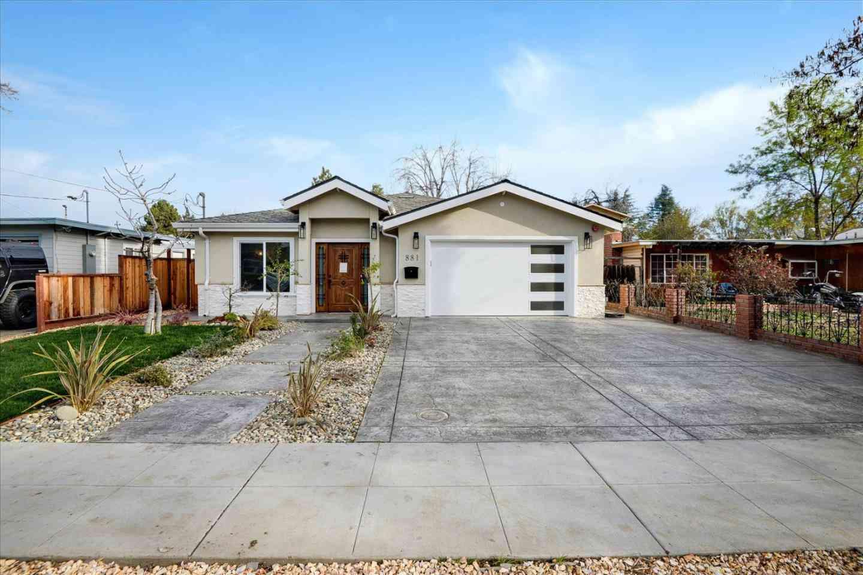 881 Shirley Avenue, Sunnyvale, CA, 94086,